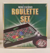 Mini Casino Roulette Set Board Game