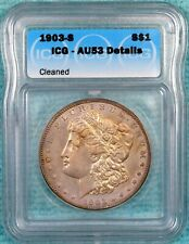 1903-S AU-53 Details Morgan Silver Dollar - Almost Uncirculated