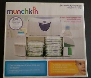 Munchkin Diaper Duty Organizer