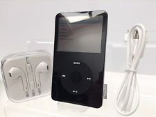 Apple iPod Video Classic 5th 5.5th Generación Negro (80GB) - Impecable (Nueva Batt)