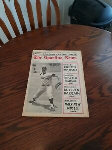 JUNE 17,1967-THE SPORTING NEWS-JUAN MARICHAL OF THE SAN FRANCISCO GIANTS(NM)
