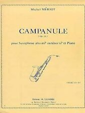 Campanule Opus 33 pour Saxophone Alto Mi b ou Ténor Si b et Piano