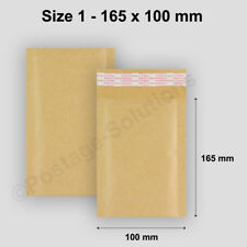 300 White Padded Bubble Envelopes 90x145mm PP1 A7 Size