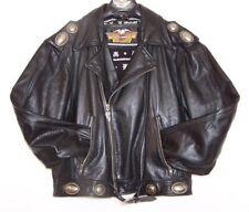 Harley Davidson MEDIUM Hacienda Leather Jacket Vintage 98130-91VM w Conchos Rare