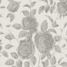 SR00522 - Savile Row Rose Argent Sketchtwenty3 Papier Peint
