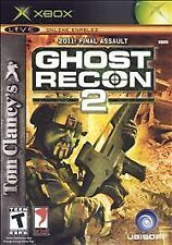 Tom Clancy's Ghost Recon 2 -Original Xbox Game, Live, Online Enabled, World Ship