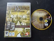 CIVILIZATION IV 4 GOLD EDITION MAC DVD-ROM STRATEGY V.G.C. FAST POST UNIVERSAL