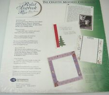 Creative Memories 12x12 Ruled Pages Refill RCM-12R  Old Style Open Package NOS