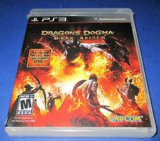 Dragon's Dogma: Dark Arisen Sony PlayStation 3  *Factory Sealed! *Free Shipping!