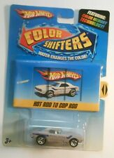 '67 CAMARO Hot Wheels COLOR SHIFTERS 2009 Rare HOT ROD TO COP ROD ORIGINAL