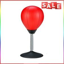 #QZO Desktop Punching Bag Stress Buster Suction Cup Stress Relief Ball with Pump