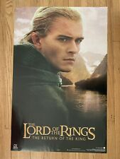 Lord Of The Rings The Return Of The King Legolas Poster