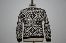 Ralph Lauren RRL Heavy Hand Knit Mulberry Silk & Wool Blend Short Sweater M
