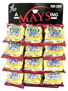 Smiths Bacon Fries Bar Snacks 12 Packs on 'The AMaysing' Pub Snacks Hanging Card