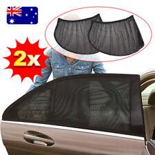 2x Universal Sun Shades Sock Rear Seat Curtain Car Window Sox Baby Protection