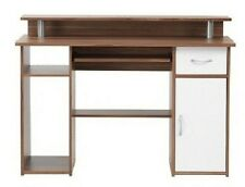 Albany French Walnut Effect Computer / Office Desk by Alphason