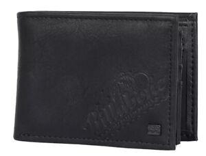 Men's / Boy's Billabong Lineup Slim Black PU Flip Wallet. RRP $27.99. NWT.