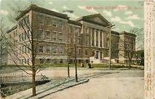 Massachusetts, MA, South Boston, High School UDB 1906 Postcard