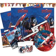 Articoli Marvel compleanno bambino per feste e party