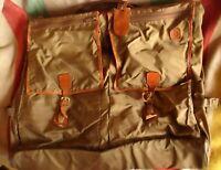 "Vintage Hartmann Nylon & Belting Leather 22"" Bag Luggage Garment Suitcase"