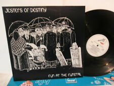 "jesters of destiny""fun at the funeral""lp12""or.hol.metal blade:RR9665 de 1986."