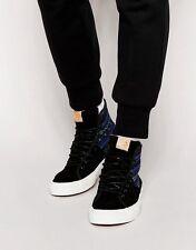 Vans SK8 Hi-Decon Sport CA (Italian Weave) Blue/Black-Men's Shoes Size 10 NWB