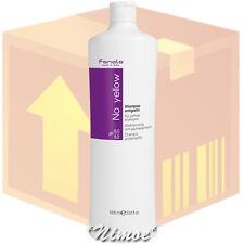 No Yellow Shampoo box 12 pcs x 1000ml Fanola ® grey super-lightened decoloured