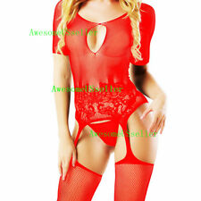 Women's Sexy Lingerie Underwear Babydoll Bodystocking Bodysuit Sleepwear Dress