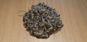 Caitlyn Loose Curl Bun Wig Large Honey Blonde Irish Dance