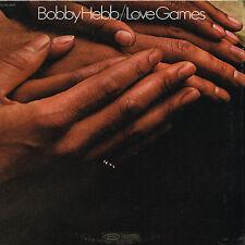 BOBBY HEBB love games U.S. EPIC LP BN-26523_orig 1970 NEAR MINT in shrink