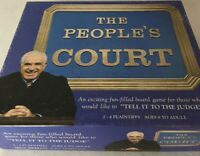 Vintage The Peoples Court Board Game by Hoyle 1986 Edition Complete Judge Wapner