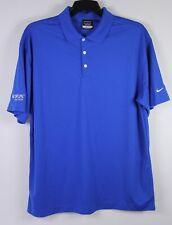 Nike Golf Polo Shirt Blue Dri Fit The Opus Group XL Mens