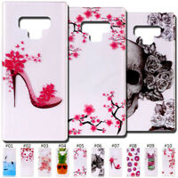 For Samsung Galaxy Note 9 Case Cover Back Clear Cute Slim TPU Soft Silicone Skin