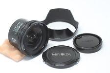 Minolta AF 20mm F/2.8 Wide Angle Lens AF Made In Japan