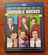 HORRIBLE BOSSES – THEATRICAL + EXTENDED CUT – BLU-RAY + DVD MOVIE