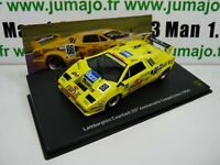LB70O voiture 1/43 IXO LAMBORGHINI  COUNTACH 25°anniversaire compétition 1994