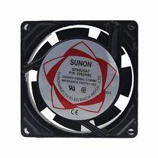 8cm 80mm ac 220V 240V 80x25mm industriel métal échappement ventilateur de refroidissement 2 wire 35CFM
