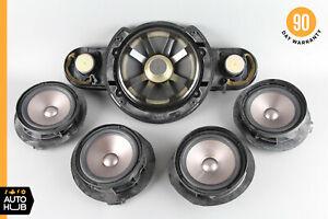 03-06 Mercedes W211 E320 E350 E500 Door Speaker Speakers Set Subwoofer OEM