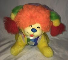 Vintage 1983 Hallmark Rainbow Brite Puppy Bright Dog Plush Stuffed Toy