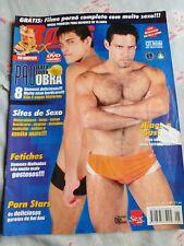 """G magazine"" gay magazine from brazil boys READ THE DESCRIPTION"