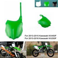 Polisport 8659200001 Green For Kawasaki KX250F 2013-2016 Front Number Plate