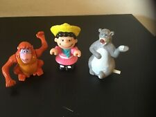 Lot of 8 Vintage little Figures toppers, Disney, Peanuts , fraggle, Muppets