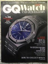 British GQ Watch And Jewellery 2019 Magazine UK Used