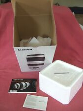 ***BOX/PACKING + USER MANUAL ONLY*** for Canon EF 100-400mm f/4.5-5.6L IS II USM