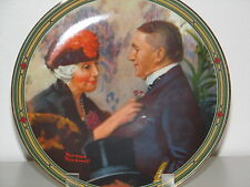 """Norman Rockwell Plate """"Loves Reward"""" from American Dream Collection Nib"""