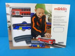 "Marklin 78055 Theme Extension Set C Track Commuter Passenger Service"""
