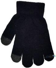 Accessoires noirs en acrylique taille unique pour fille de 2 à 16 ans