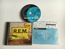 R.E.M - IN TIME BEST OF PROMO SAMPLER 6 TRACK CD + REVEAL + OUT OF TIME REM