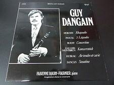"RECITAL GUY DANGAIN   CLARINETTE SELMER   LP 33T 12""   CONCERT PRIVE   GRAVLOR"