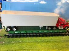 1 USA Trains Flatcar & 1/32 AMT ERTL Volvo N10 Truck & Trailer Vintage Kit NEW